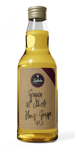 Grappa al Miele, Honig-Grappa, 40% Vol