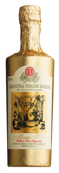 Mosto Oro, Olio Calvi, Olivenöl, kaltgepreßt, extra nativ, Ligurien, Italien