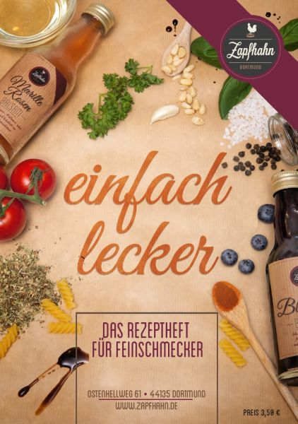 """""""Einfach lecker""""-Rezeptheft, über 40 Rezepte UVP 5,-€ zum Sonderpreis!"""