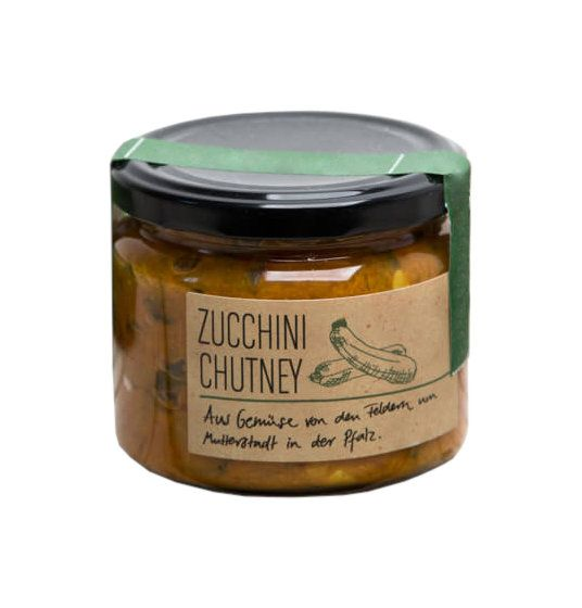 Zucchinirelish, Zucchinichutney als Grillbeilage
