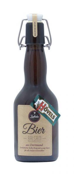Hövels-Bier Balsam aus Dortmund in der Bier-Flasche