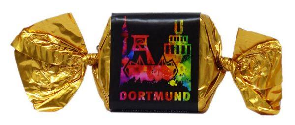 Nougat Praline mit Gruß aus Dortmund