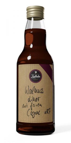 Walnuss-Likör mit feinem Cognac, 28% Vol