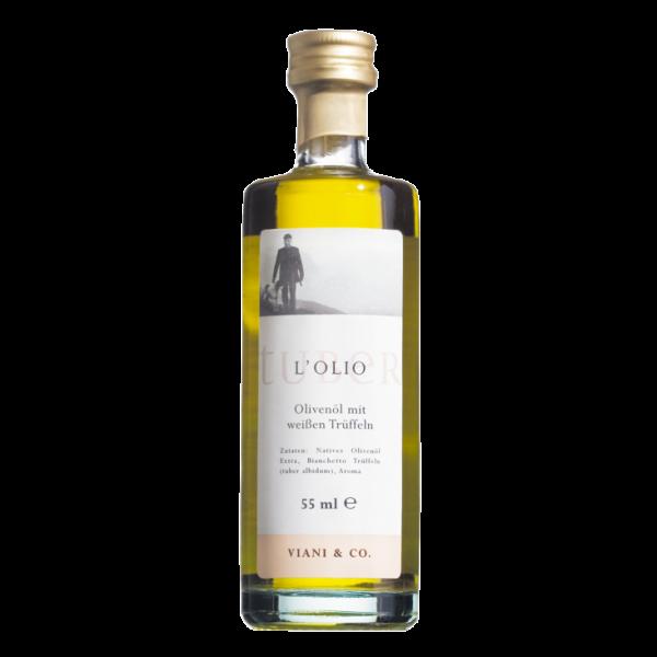 Trüffelöl mit weißen Sommer-Trüffeln veredelt
