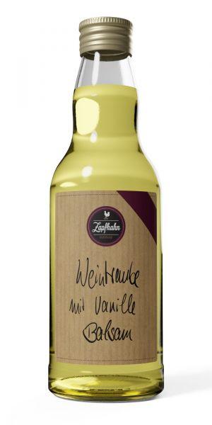 Weintrauben Balsam mit Vanille Balsam, wenig Säure
